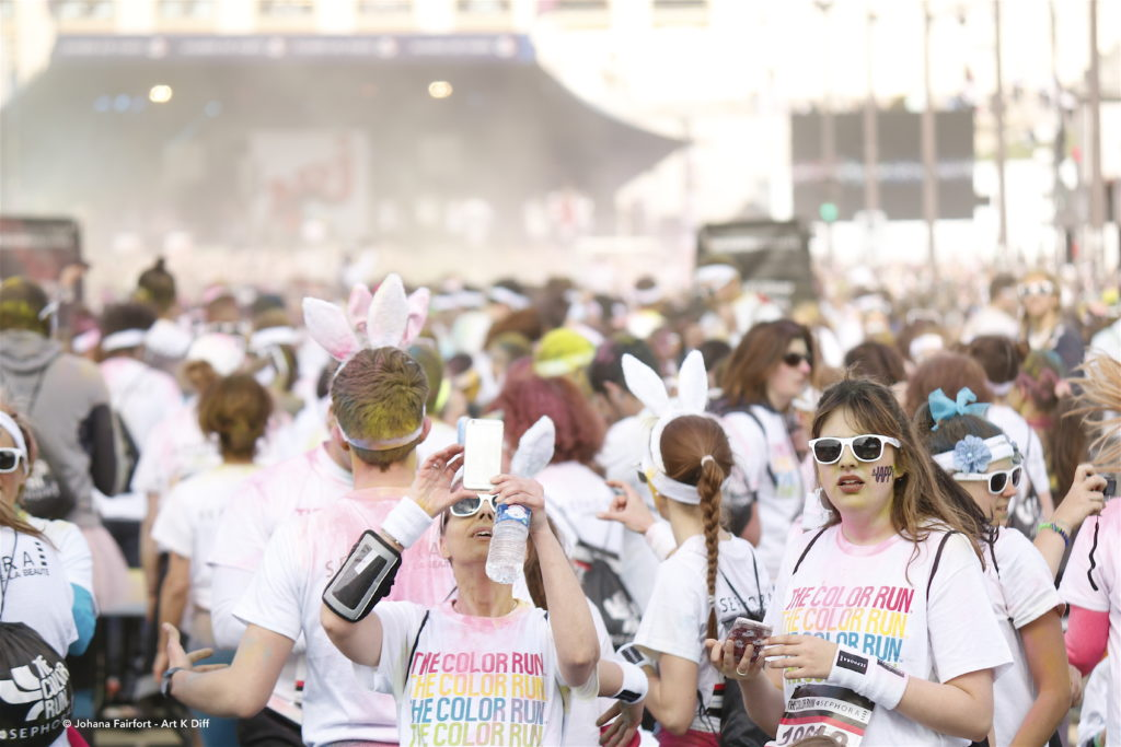 Color Run Paris