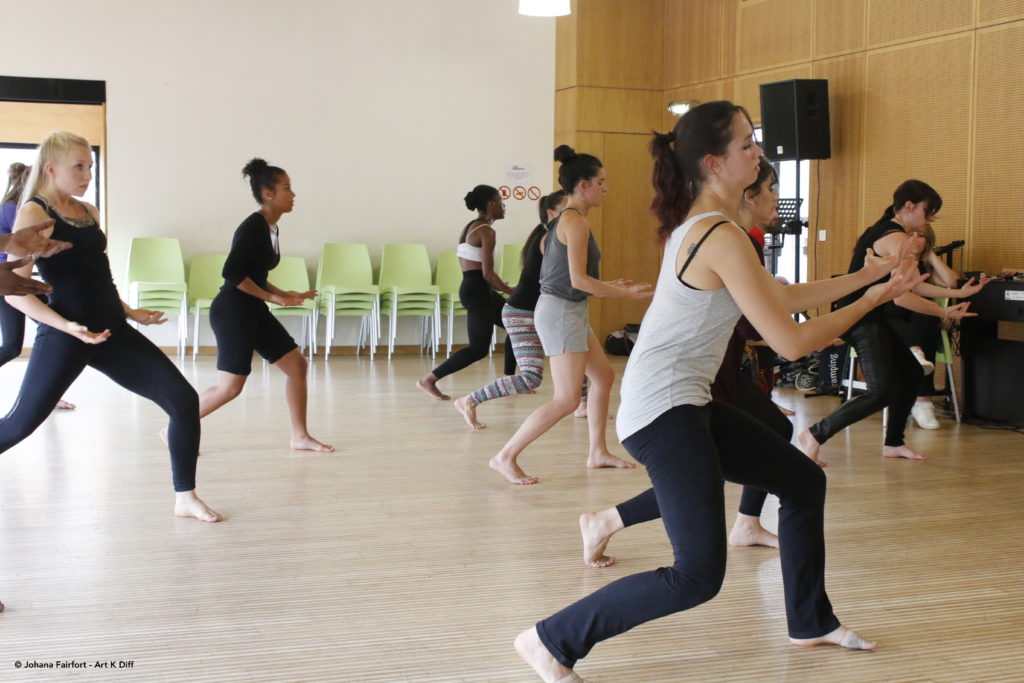 Audition Compagnie Afr-Ka'Danse